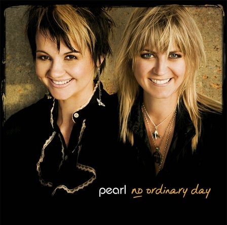 Pearl, New Zealand band / duo-singer-songwriters (Lisa Nimmo & Shelley Hirini), win a virtual award from Vision100 for 'Gorgeous NZ Album Cover of the Year'. Album 'No Ordinary Day'.
